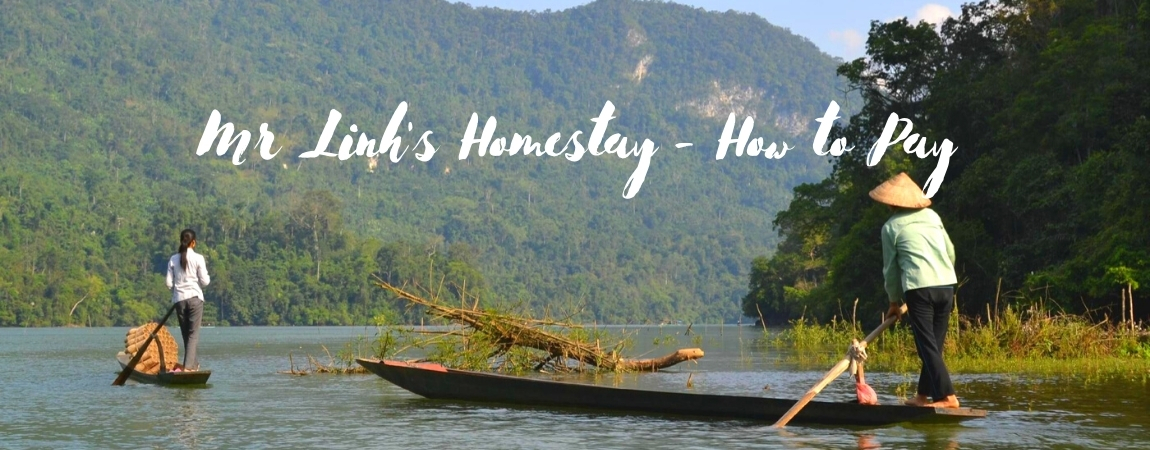 Mr Linh's Homestay - How to Pay
